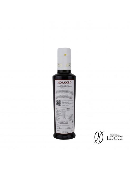 Umbrian oil monocultivar moraiolo in bottles of 250 ml (2)