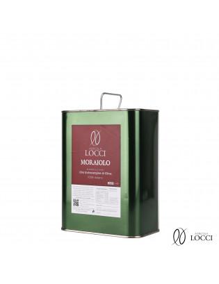 Lattina 2 litri di olio monocultivar moraiolo