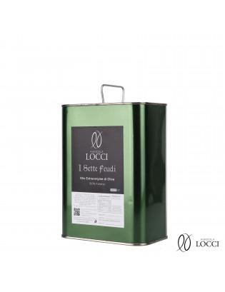 Lattina 3 litri di olio extravergine di oliva italiano