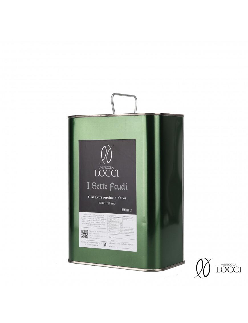 Can of Extra Virgin Olive Oil|I sette feudi (3L)