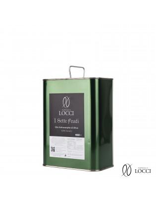 Lattina 2 litri di olio extravergine di oliva italiano