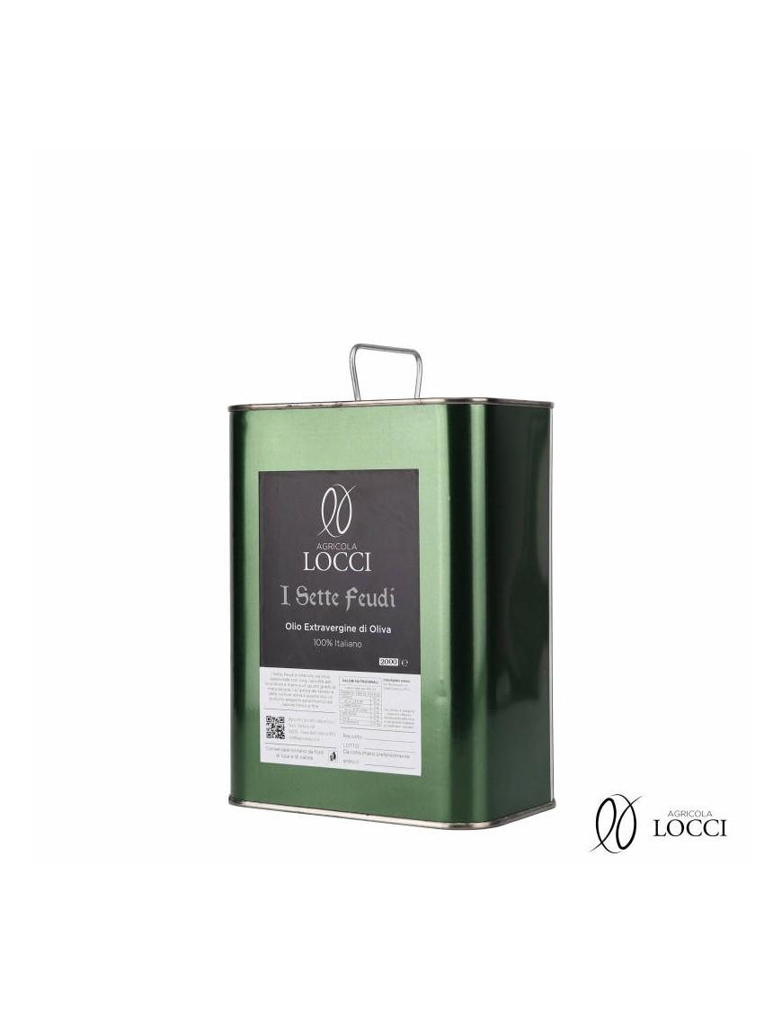 Olio Extravergine di Oliva in Lattina|I Sette Feudi - Agricola Locci