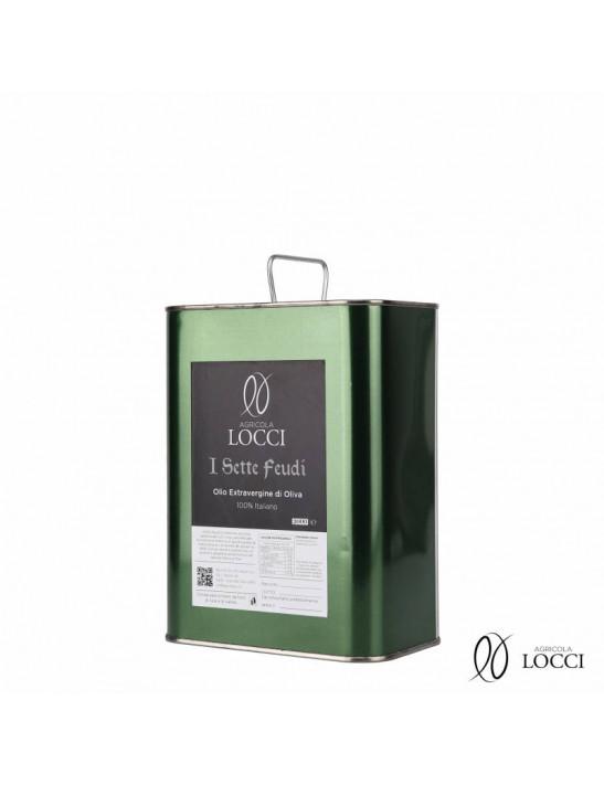 Olio Extravergine di Oliva in Lattina da 2 litri
