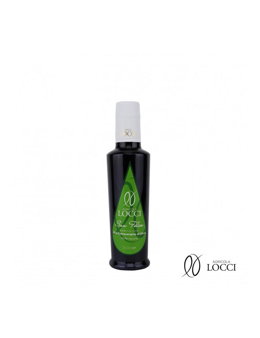Olio monocultivar San Felice in bottiglia|Agricola Locci