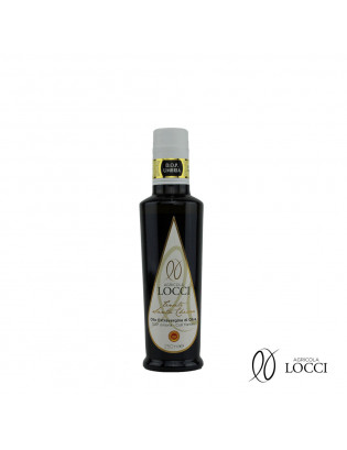 Umbrian extra virgin olive oil DOP in the bottle|Tenute Santa Chiara - Agricola Locci