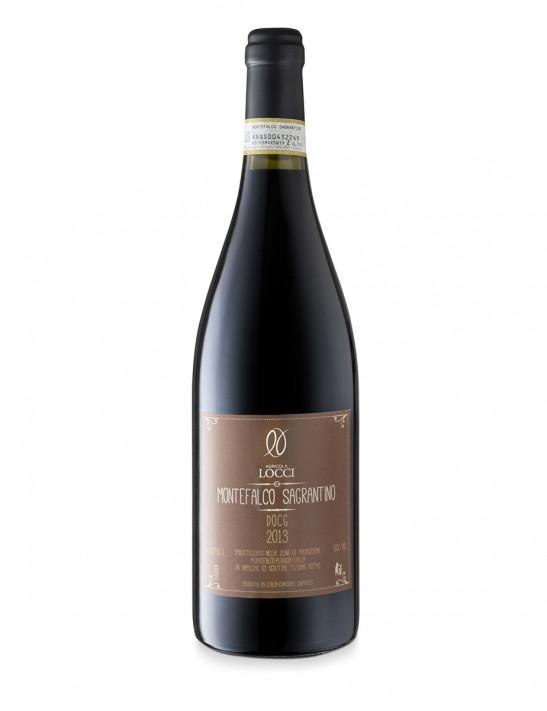 Sagrantino di Montefalco DOCG in the bottle