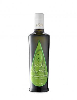 Monocultivar San Felice in the bottle of 500 ml