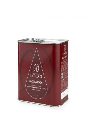 Monocultivar Moraiolo in a can of 2 liters
