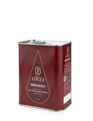 Monocultivar Moraiolo in lattina da 2 litri