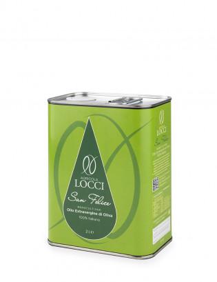 Monocultivar San Felice in a can of 2 liters