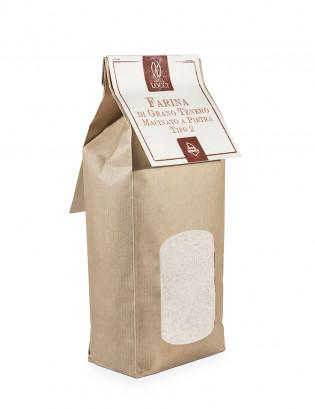 Farina di grano tenero tipo 2 confezione da 1 kg