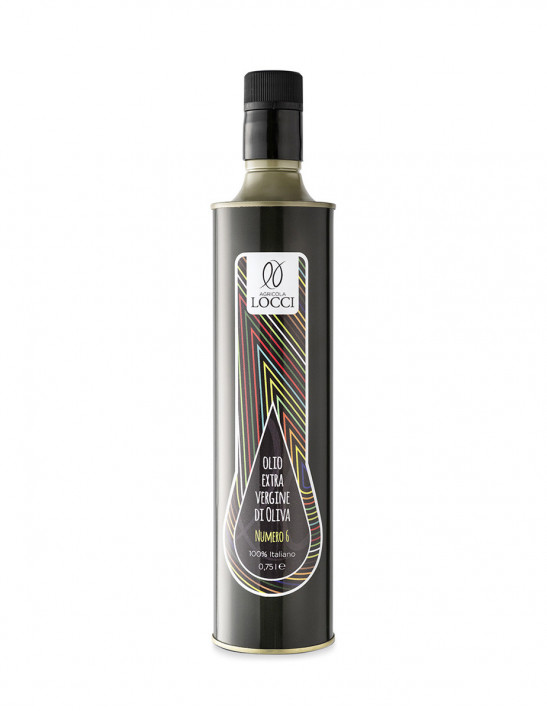 Selection number 6 oil in a 750 ml metal bottle