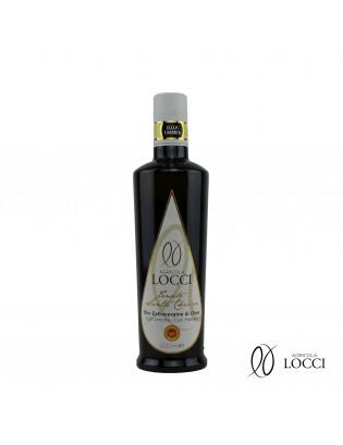 Olio extravergine di oliva umbro dop in bottiglia da 500 ml (1)