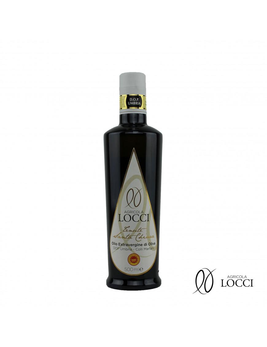 Extra virgin olive oil DOP umbria|Tenute Santa Chiara (500ml)