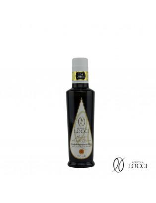 Olio extravergine di oliva umbro dop in bottiglia da 250 ml (1)