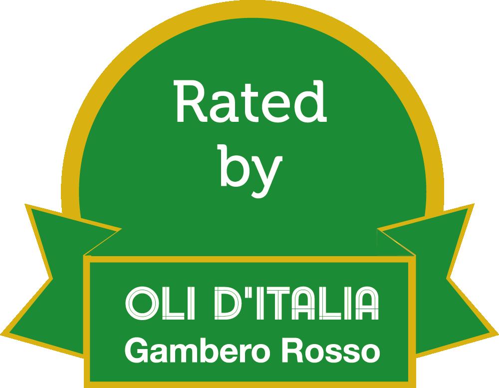 award 2 leaves red shrimp oils of italy vintage 2018 oil Tenute Santa Chiara Agricola Locci