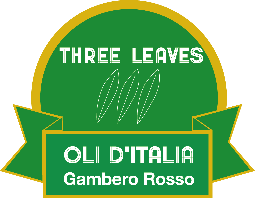 Award 3 leaves prawn red oils italy season 2021 oil selection number 6 Agricola Locci