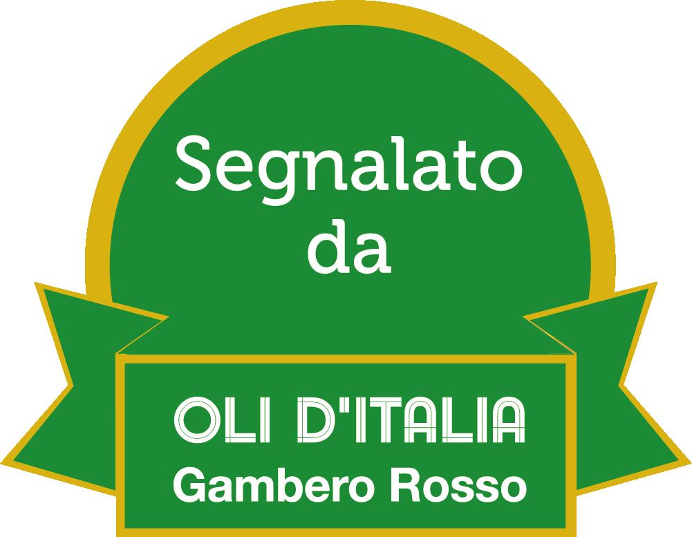Premio 2 foglie gambero rosso oli d'italia annata 2018 olio Tenute Santa Chiara Agricola Locci